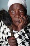 Традиционный исцелитель, Танзания Стоковое Фото