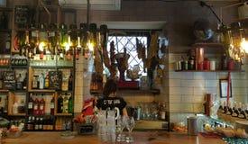 Традиционный итальянский бар стоковые изображения
