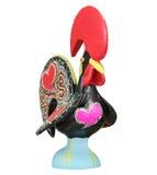 Традиционный керамический петух Стоковое Фото