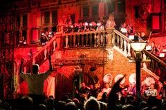 Традиционный концерт стоковое фото rf