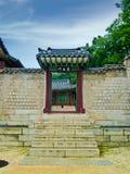 Корейский дворец Стоковая Фотография RF