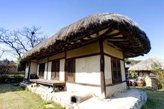 Традиционный корейский дом, Южная Корея Стоковое Изображение