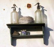 Традиционный объект на стене Стоковая Фотография
