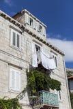 Традиционный дом в Дубровнике, Хорватии Стоковые Фото