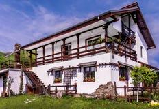 Традиционный дом на солнечный день Стоковые Фото