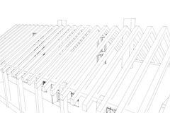 Традиционный дом Стоковые Изображения RF