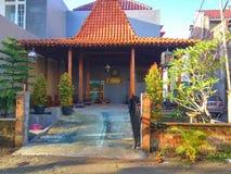 Традиционный дом Jogja Стоковое Изображение RF