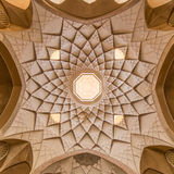 Традиционный дом khan-e Abbasian в Kashan, Иране Стоковые Фотографии RF