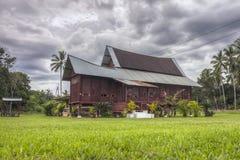 Традиционный дом Malay в Малайзии стоковая фотография rf