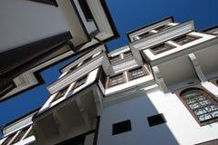 Традиционный дом, Ohrid, македония Стоковое фото RF