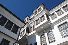 Традиционный дом, Ohrid, македония Стоковая Фотография RF