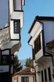 Традиционный дом, Ohrid, македония Стоковые Фотографии RF