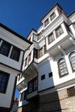 Традиционный дом, Ohrid, македония Стоковые Изображения RF