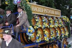 Традиционный парад костюма в Баварии Мюнхена Стоковые Фото