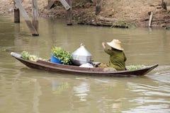 Традиционный плавая рынок Стоковые Изображения RF