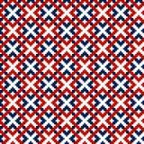 Традиционный русский орнамент для вышивки на одеждах Стоковое Фото
