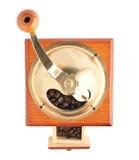 Традиционный ручной деревянный изолированный механизм настройки радиопеленгатора Стоковая Фотография RF