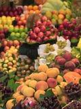 Традиционный рынок плодоовощ стоковое фото