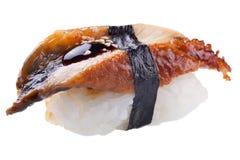 Традиционный сасими суш на белой предпосылке Стоковое фото RF