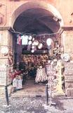 Традиционный сувенирный магазин в Неаполь Италия Стоковое Изображение RF