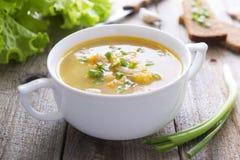 Традиционный суп гороха Стоковые Фото