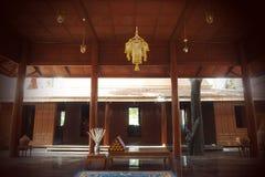 Традиционный тайский дом Стоковая Фотография