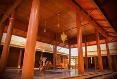 Традиционный тайский дом Стоковые Изображения RF