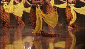 Традиционный танец Индонезии стоковое фото rf