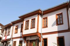Традиционный турецкий дом в городе Анкары Стоковое Изображение