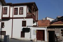 Традиционный турецкий дом в городе Анкары Стоковые Фото