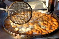 Традиционный турецкий сладостный жарить печенья Стоковые Изображения