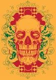 Традиционный череп Стоковое Фото