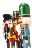 Традиционный Щелкунчик рождества Figurine Стоковые Изображения RF