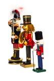 Традиционный Щелкунчик рождества Figurine Стоковая Фотография RF