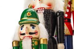 Традиционный Щелкунчик рождества Figurine Стоковая Фотография