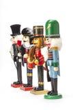 Традиционный Щелкунчик рождества Figurine Стоковые Изображения