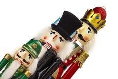 Традиционный Щелкунчик рождества Figurine Стоковые Фотографии RF