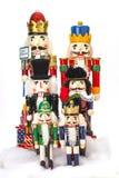 Традиционный Щелкунчик рождества Figurine Стоковое фото RF
