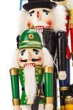 Традиционный Щелкунчик рождества Figurine Стоковое Изображение RF