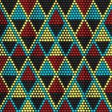 Традиционный этнический африканский орнамент вектор картины безшовный E Стоковые Фотографии RF