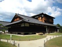 Традиционный японский замок в Киото Стоковое Изображение RF