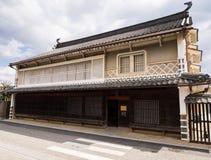 Традиционный японский торговый дом Стоковое Изображение RF