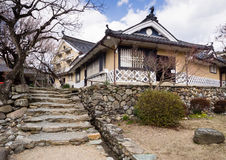 Традиционный японский торговый дом Стоковое фото RF