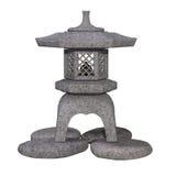 Традиционный японский фонарик камня сада Стоковое фото RF