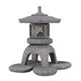 Традиционный японский фонарик камня сада Стоковые Изображения RF