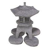 Традиционный японский фонарик камня сада Стоковые Фотографии RF