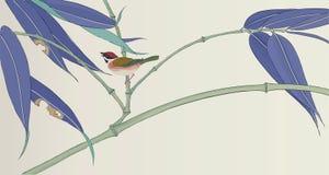Традиционный японский чертеж для вашего дизайна Стоковая Фотография