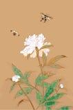 Традиционный японский чертеж для вашего дизайна Стоковое Изображение