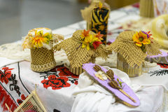 Традиционный handmade получатель Стоковое фото RF