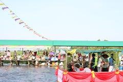 Традиция заслуги к воде Стоковое Фото